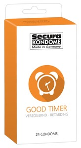 24 stk. Secura - Good Timer Kondomer