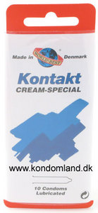 10 stk. WORLDS BEST - Kontakt Cream-special kondomer